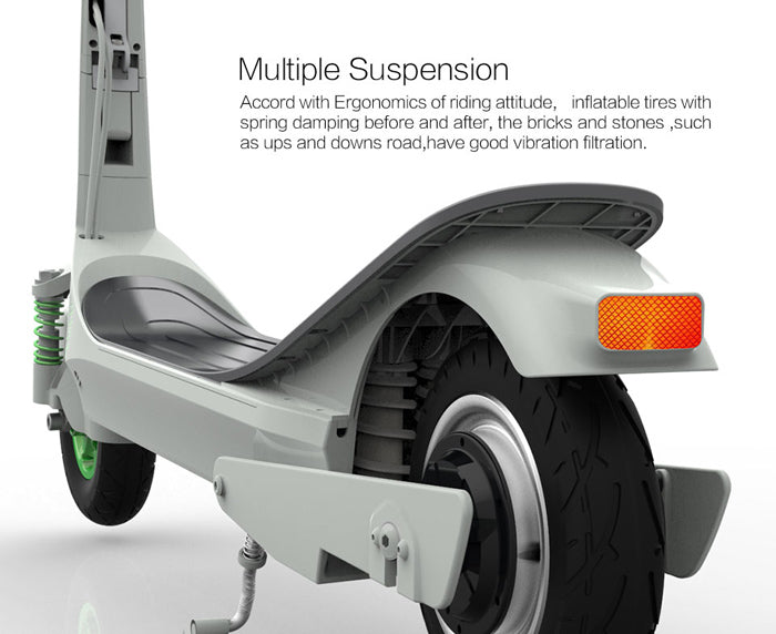 Inmotion L-6 L6 Electric Scooter Multiple Suspension