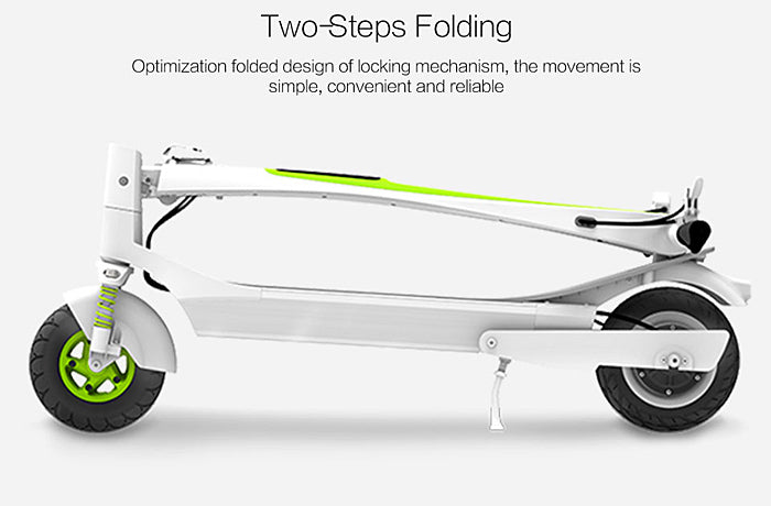 Inmotion L-6 L6 Electric Scooter folding compact system