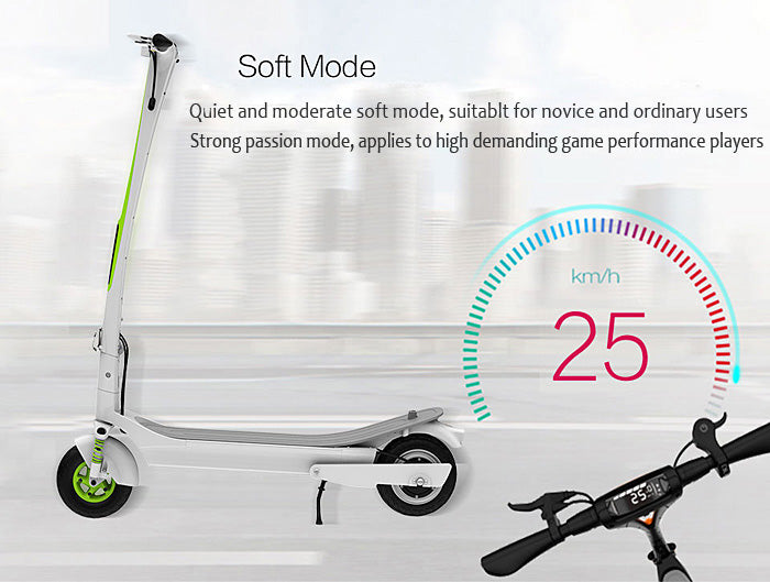 Inmotion L-6 L6 Electric Scooter Soft Mode