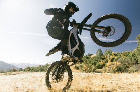 Electric Dirt Bike Wheelie