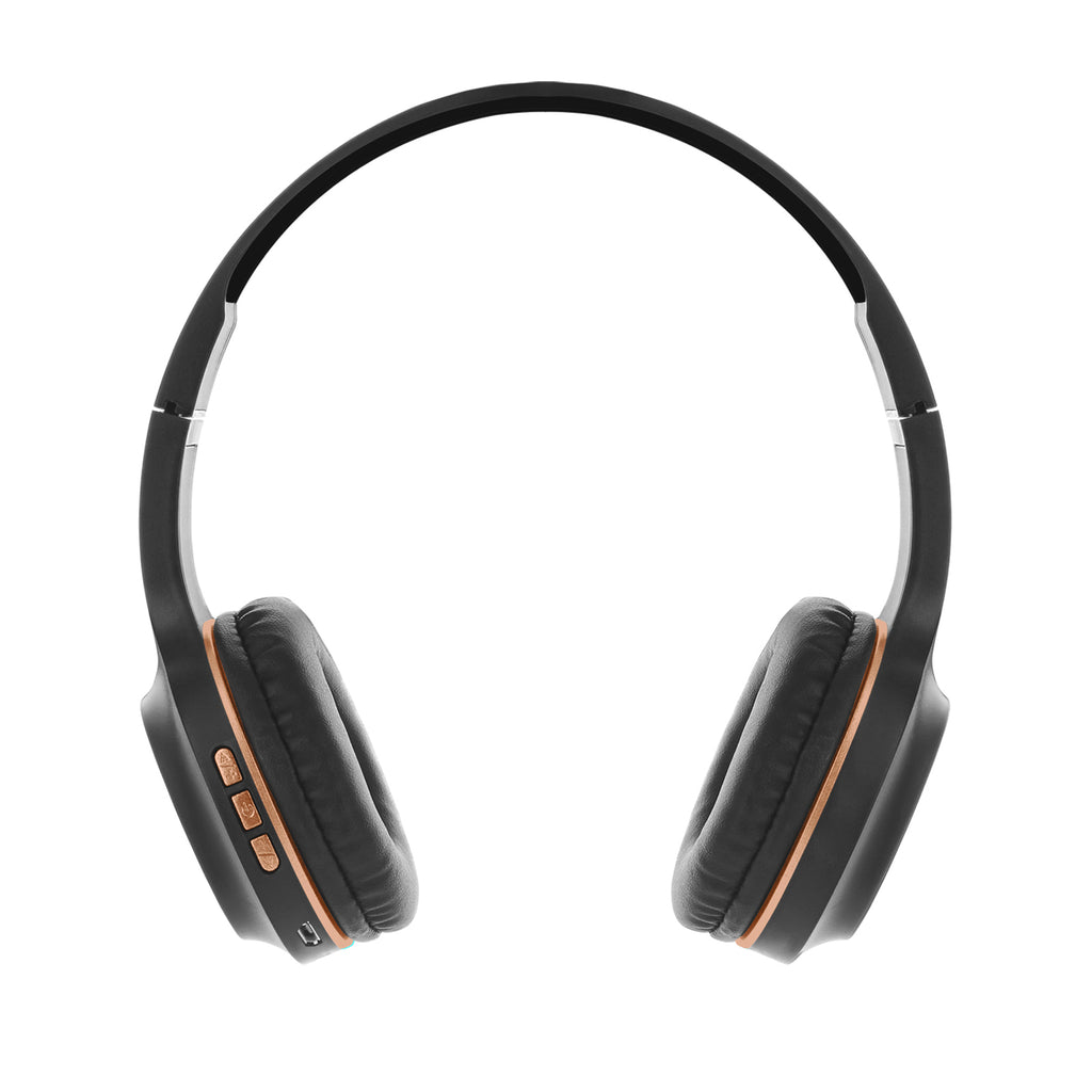 Reiko Industries Bt105: Bluetooth Wireless Headphone With Mic Rose Gold | MaxStrata