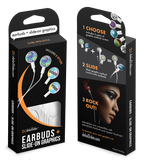 dekaSlides Earbuds + Combo Pack: Cassettes + Good Vibes | MaxStrata