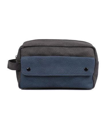 Karla Hanson Men's Travel Toiletry Bag with Front Pocket | MaxStrata