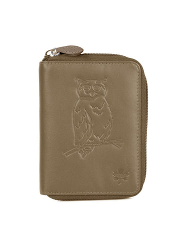 Karla Hanson CANADA WILD Women's Leather Wallet - Owl | MaxStrata