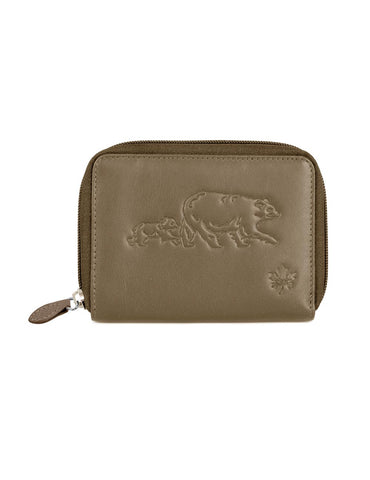 Karla Hanson CANADA WILD Women's Leather Wallet - Bear and Bub | MaxStrata