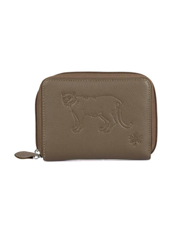 Karla Hanson CANADA WILD Women's Leather Wallet - Cougar | MaxStrata