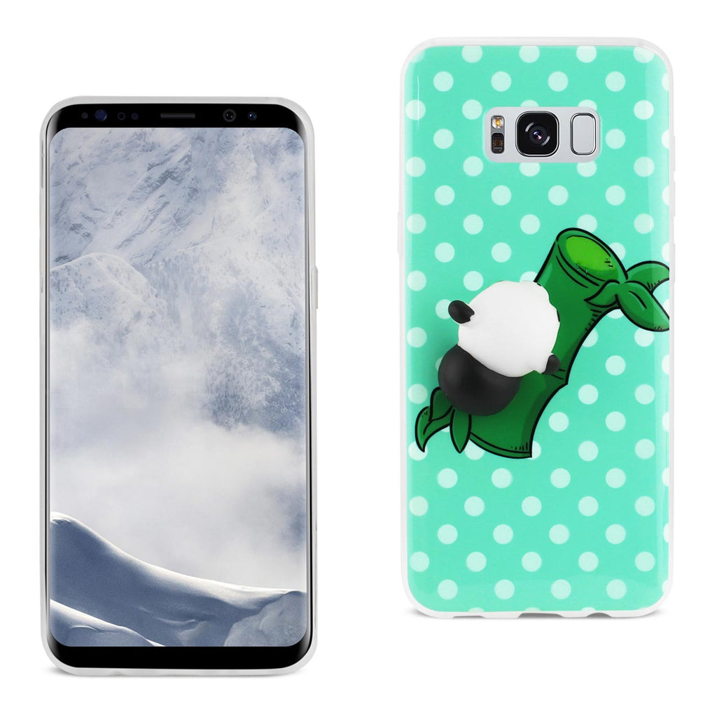 Reiko Samsung Galaxy S8 Edge TPU Design Case With  3D Soft Silicone Poke Squishy Panda | MaxStrata