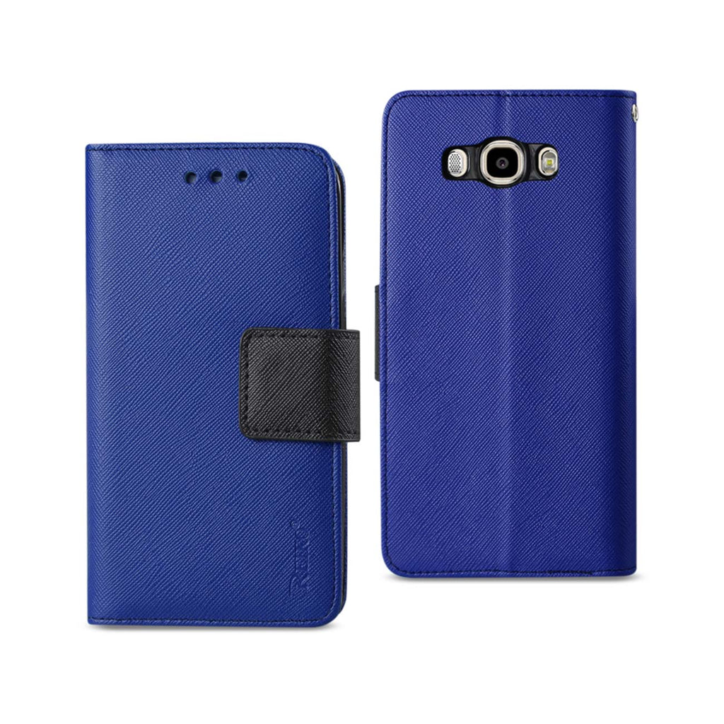 Reiko Samsung Galaxy J7 (2016) 3-In-1 Wallet Case In Navy | MaxStrata