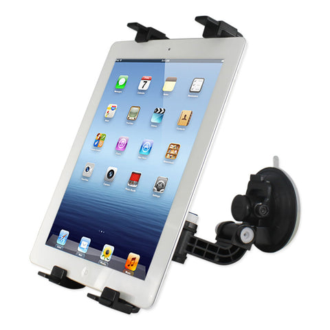 Phone Holder For Car (Suction On Glass) Clip iPad Black | MaxStrata