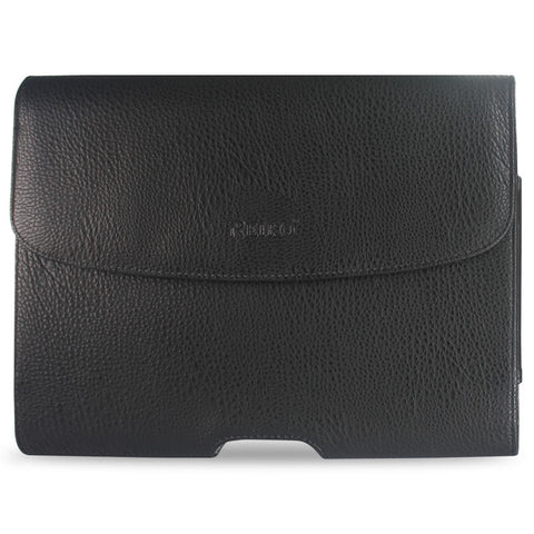 Reiko Horizontal Pouch Apple iPad3 Plus Black Horse Skin Pattern | MaxStrata