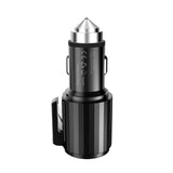 Reiko Quick Car Charger, 4.8A Dual USB Fast Car Charger With Life Guard Charge Technology In Gray | MaxStrata
