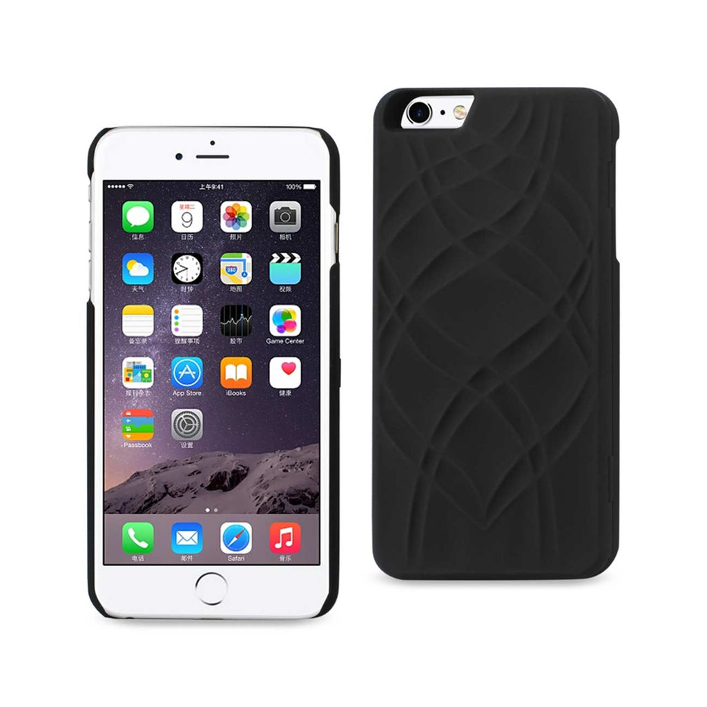Reiko iPhone 6 Plus/ 6S Plus Hidden Mirror Wallet Case With Kickstand Function In Black | MaxStrata