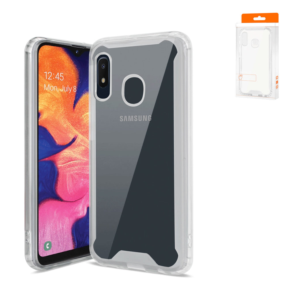 Reiko Samsung Galaxy A10e High Quality TPU Case In Clear | MaxStrata