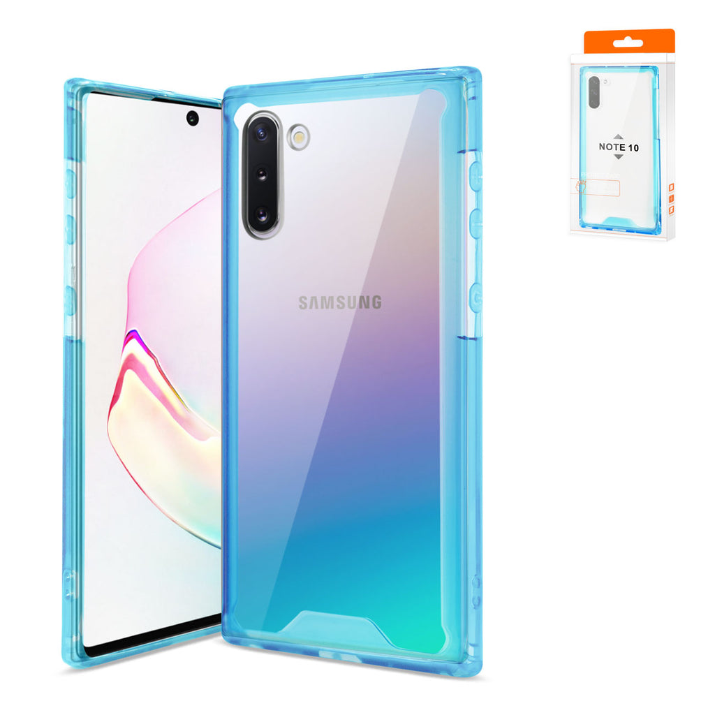 Reiko Samsung Galaxy Note 10 High Quality TPU Case In Blue | MaxStrata