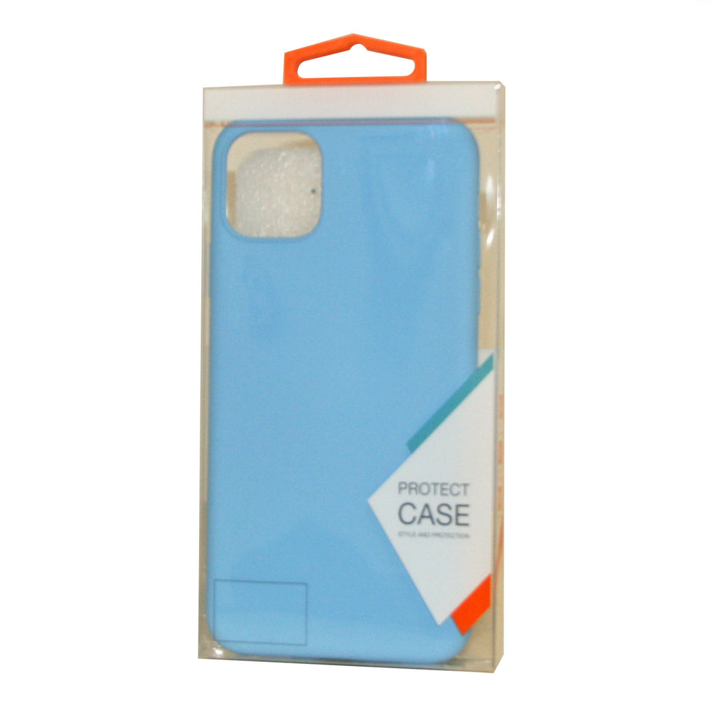 Reiko Apple iPhone 11 Pro Gummy Cases In Blue | MaxStrata