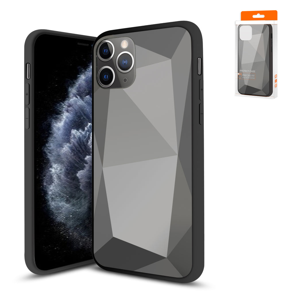 Reiko Apple iPhone 11 Pro Max Apple Diamond Cases In Black | MaxStrata