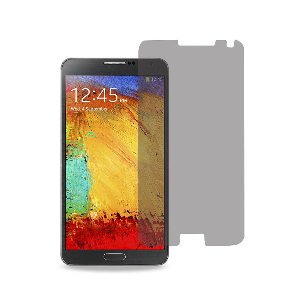Reiko Samsung Galaxy Note 3 Privacy Screen Protector In Clear | MaxStrata