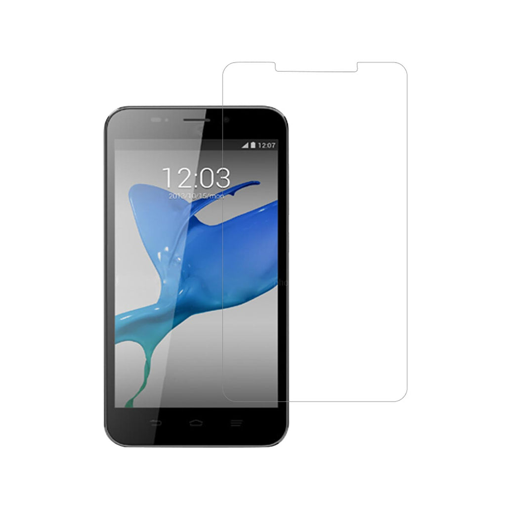 Reiko ZTE Quartz Two Pieces Screen Protector In Clear | MaxStrata
