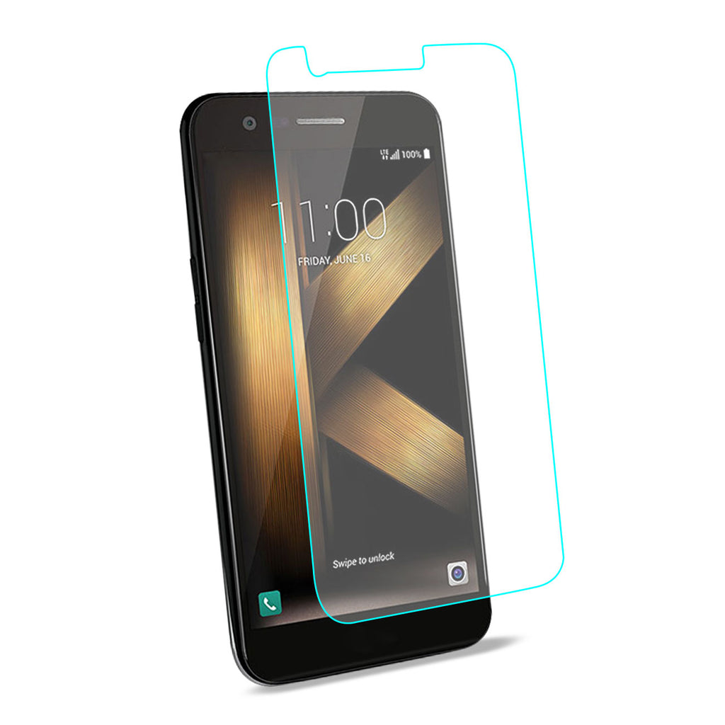 Reiko LG K20 V/ K20 Plus Tempered Glass Screen Protector In Clear | MaxStrata