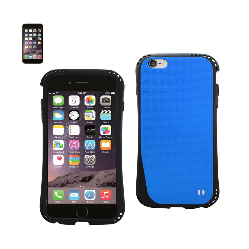 Reiko iPhone 6S Plus/ 6 Plus Dropproof Air Cushion Case With Chain Hole In Navy | MaxStrata