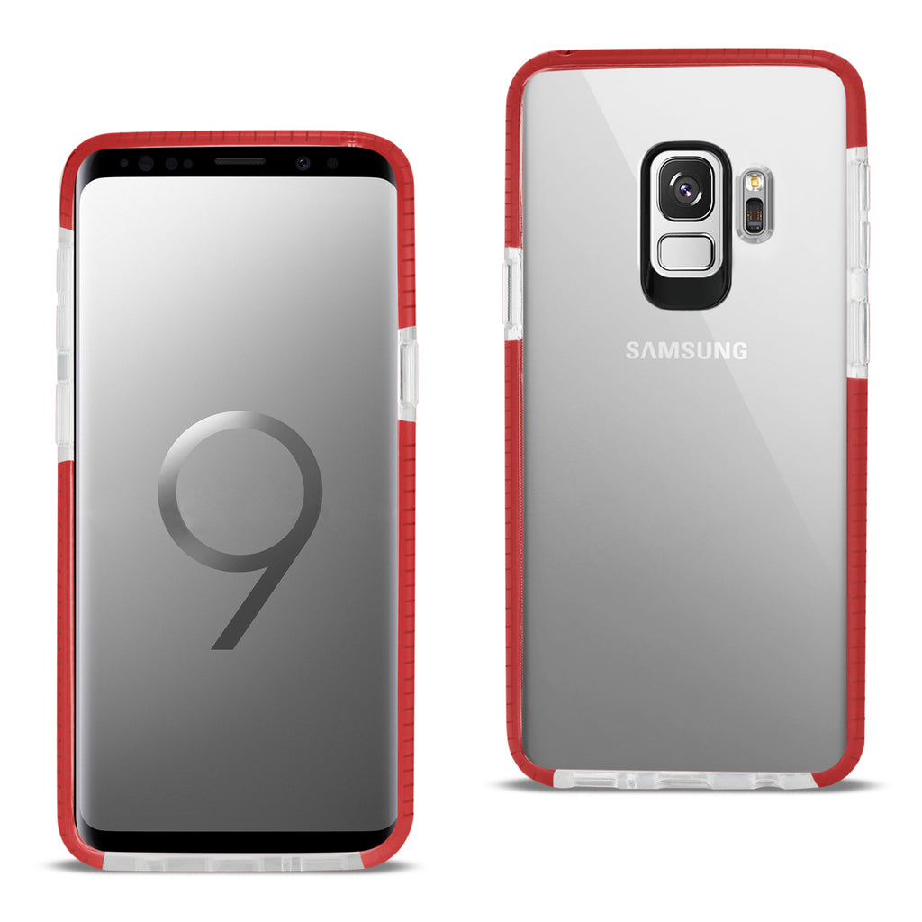 Reiko Samsung Galaxy S9 Soft Transparent TPU Case In Clear Red | MaxStrata