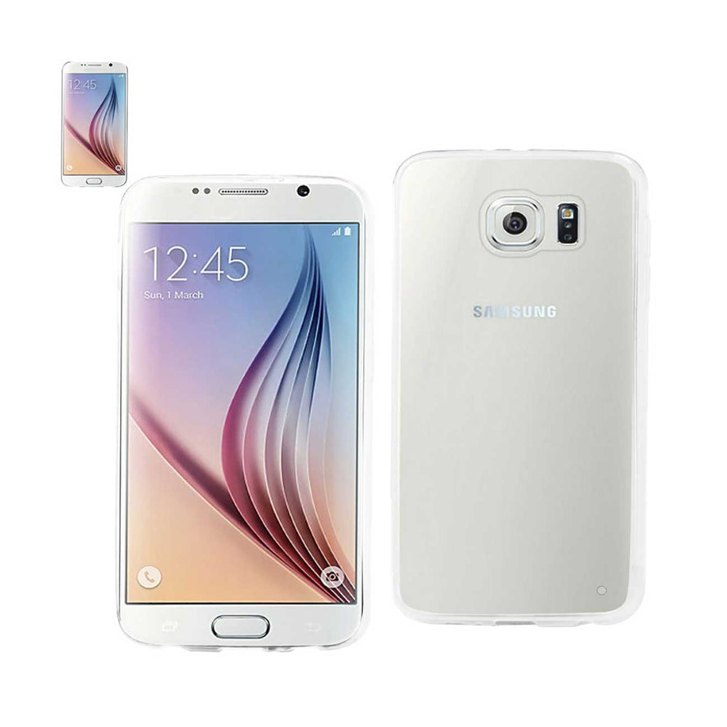 Reiko Samsung Galaxy S6 Clear Back Frame Bumper Case In Clear | MaxStrata