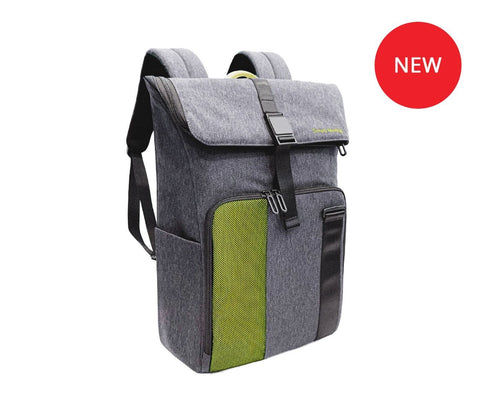 Ninebot by Segway Leisure Backpack - Green & Dark Gray | MaxStrata
