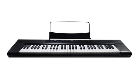 Artesia A-61 61-Key, Digital Piano with 8 Dynamic Voices with USB + Power Supply + Sustain Pedal + Headphones | MaxStrata
