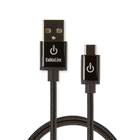 "CableLinx Elite 36"" Micro to USB-A Charge & Sync Braided Cable 