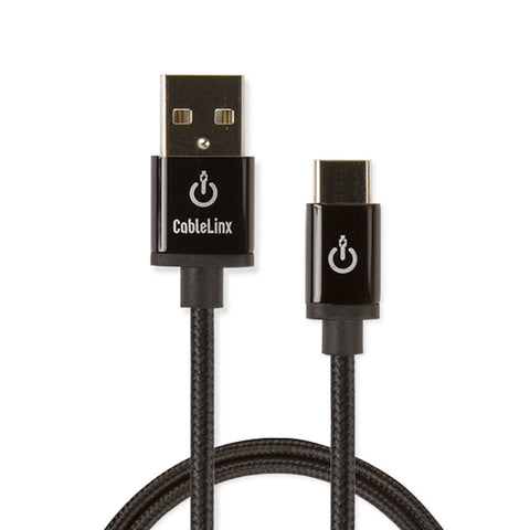 "CableLinx Elite 36"" USB-C to USB-A Charge & Sync Braided Cable 