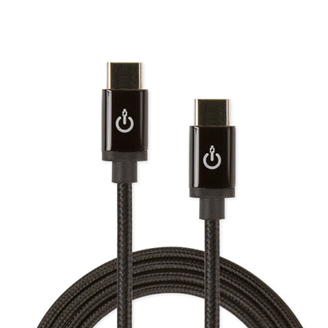 "CableLinx Elite 72"" USB-C to USB-C Charge & Sync Braided Cable 