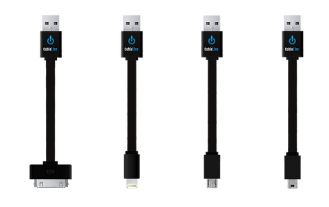 ChargeHub CableLinx Value Pack of 4 USB Charge & Sync Cables | MaxStrata
