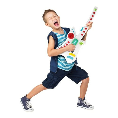HamiltonBuhl Do-Re-Me Electronic Guitar for Early Learners | MaxStrata