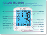 G.LAB Upper Arm Cuff Blood Pressure Monitor with LED WHO Indicator & Ultra Large Display | MaxStrata