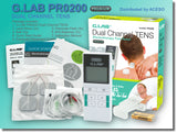 G.LAB Premium Handheld Dual Channel Pain Relief TENS Unit | MaxStrata