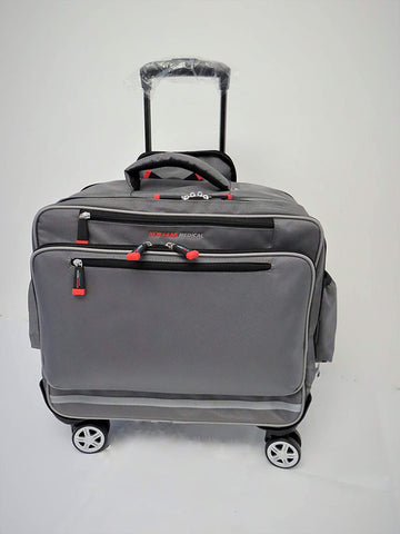 New Gear Medical The Traveler – Anti-Microbial Rolling Medical Bag | MaxStrata