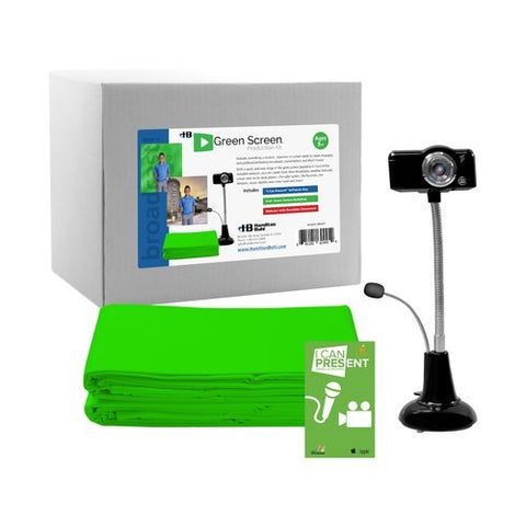 HamiltonBuhl - STEAM Education- Green Screen Production Kit | MaxStrata