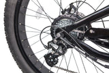 GlareWheel Predator EB-PR Black Fat Tire Electric Bike | MaxStrata
