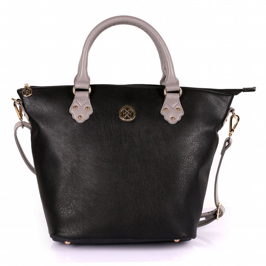 Karla Hanson Merry Women's Tote Bag - Black/Grey | MaxStrata