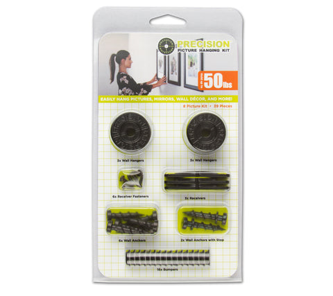 Precision 8 Picture Hanging Kit