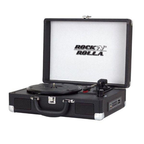 Rock 'N' Rolla Junior Portable Briefcase Vinyl Turntable | MaxStrata