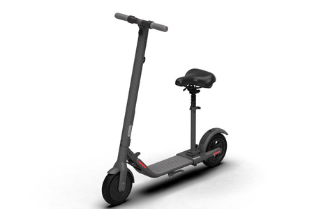Ninebot E22 KickScooter by Segway with Seat Bundle | Multiple Shock Absorption | Foldable | Easy Installation | MaxStrata