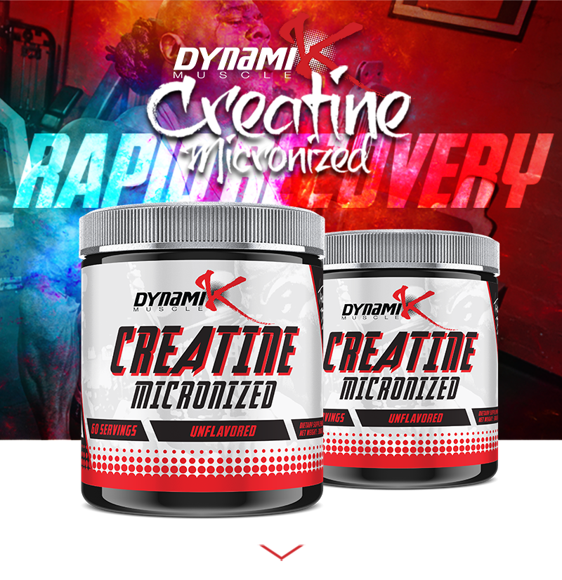 Creatine Micronized - Rapid Recovery