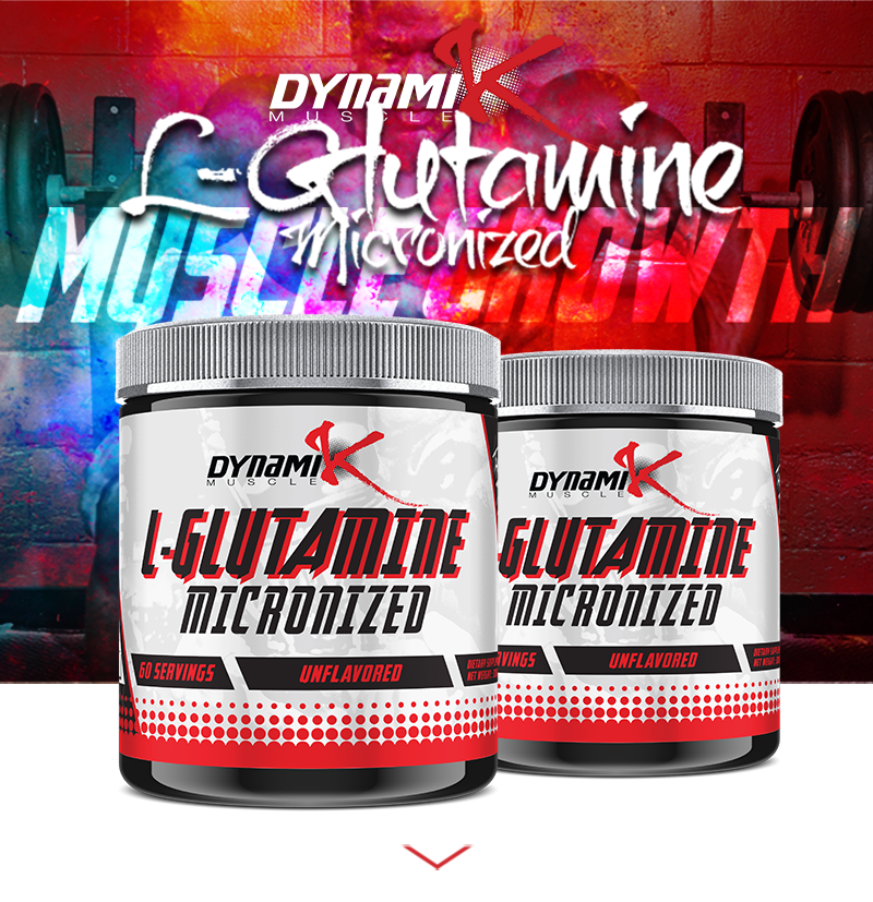 L-Glutamine - Micronized - Muscle Recovery Formula