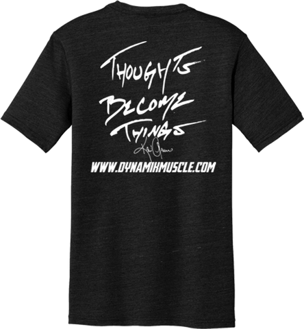 """Thoughts Become Things"" Crew Neck T-Shirt"