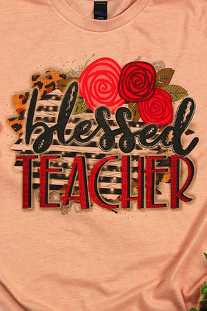 Blessed Teacher Unisex Blend Tee