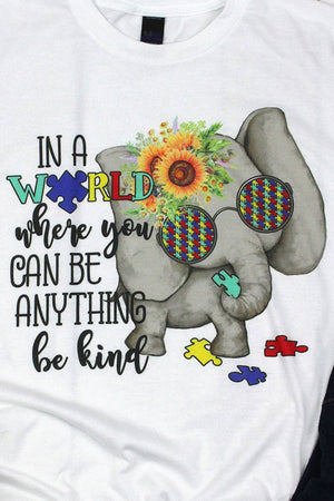 Be Kind Autism Unisex Blend Tee