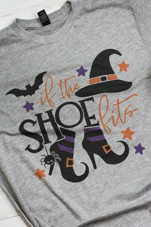 If The Shoe Fits Unisex Blend Tee