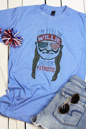 Willie Patriotic Unisex Blend Tee