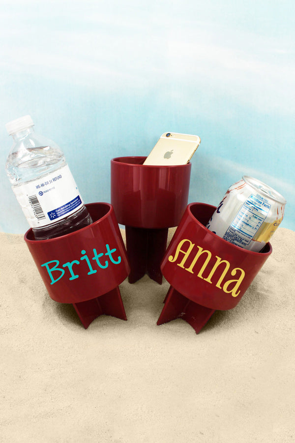 Garnet Spiker Beach Beverage Holder